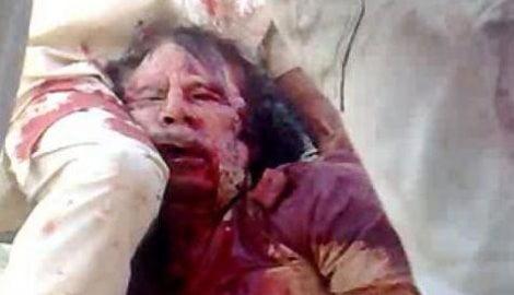 Gheddafi-morto
