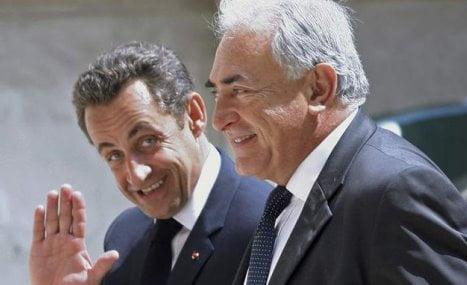 Strauss-Kahn-Sarkozy