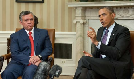 US-JORDAN-DIPLOMACY-OBAMA-ABDULLAH