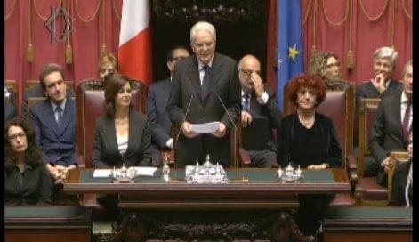 Messaggio del presidente della repubblica mattarella nel for Vice presidente della camera dei deputati