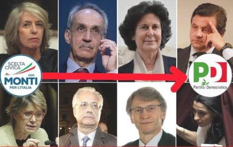 ++ 8 parlamentari Sc, ok Renzi, aderiamo a gruppi Pd ++