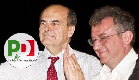Pier Luigi Bersani e Massimo Marchignoli