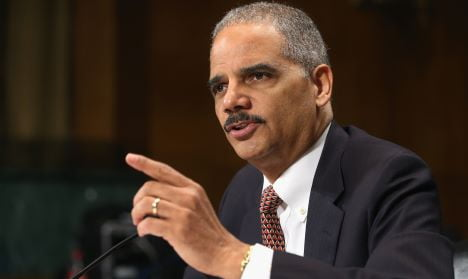 Holder Testifies At Senate Judiciary Committee On Justice Dep't Oversight