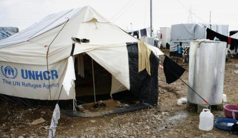 REFugees hosted in camp in northern Iraq
