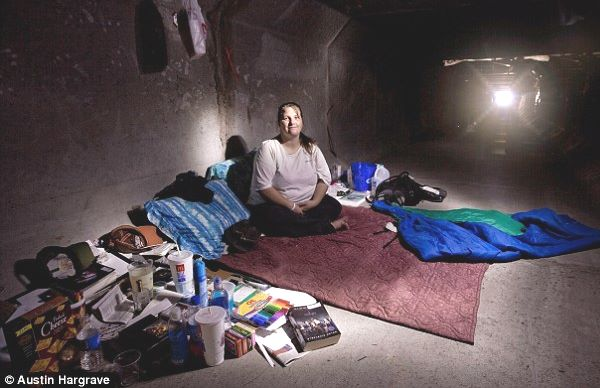 Cittadini americani vivono nelle fogne di Las Vegas