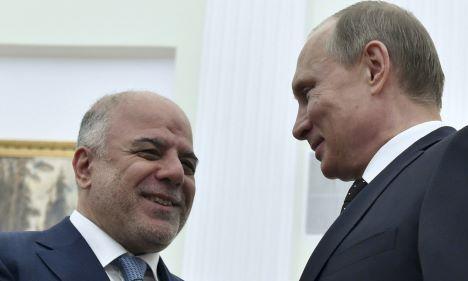 Abadi-iraq-Putin