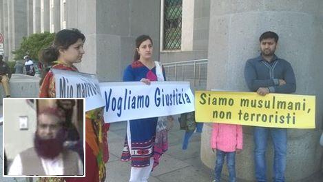 Terrorismo: protesta davanti tribunale Cagliari