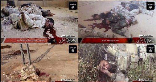 Soldati iraqeni torturati e uccisi da ISIS