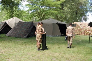 Tenda Da Campo.Expo Militari Nelle Tende Da Campo Cocer Non Siamo Figli