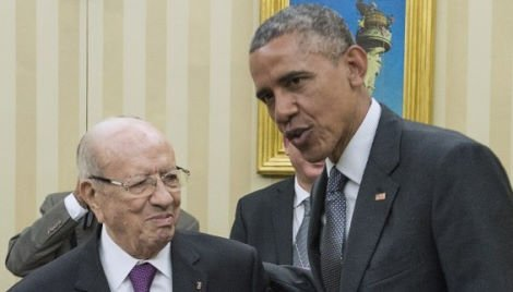 TUNISIA-Essebsi-OBAMA