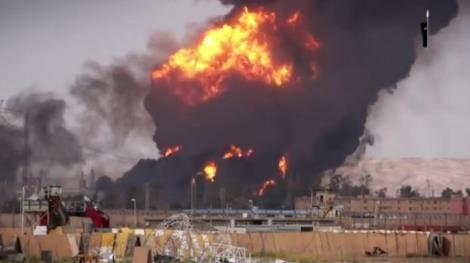 ISIS-Baiji-Fire