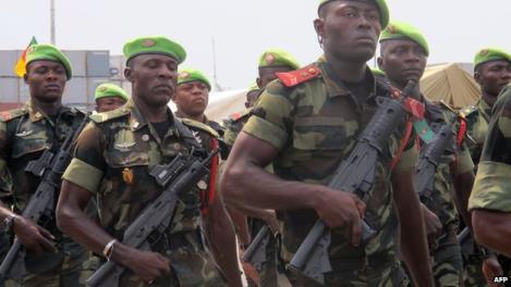 Truppe del Camerun