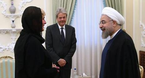 Italian Foreign Minister Paolo Gentiloni visits Tehran