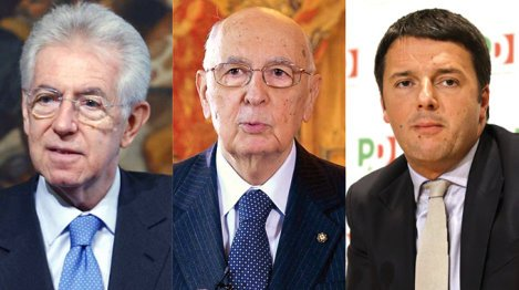 monti-Napolitano-Renzi