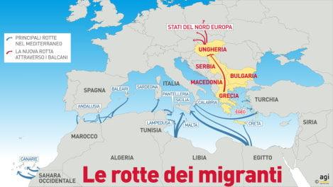 ROTTE-immigrati