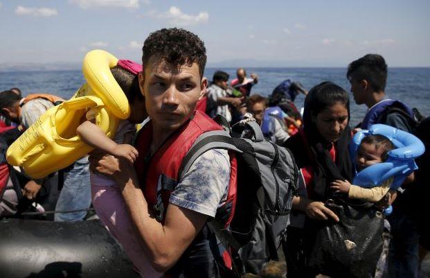 Famiglia di migranti