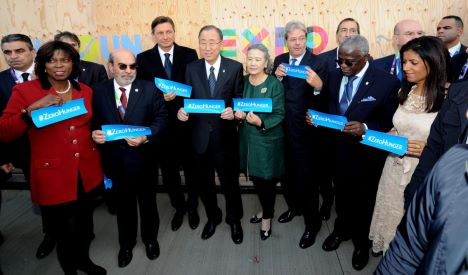 Gentiloni e Ban Ki-moon all'Expo per il World Food day