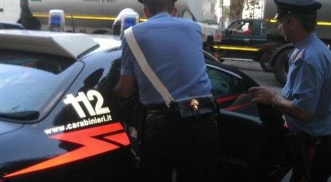carabinieri presa gang di egiziani