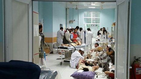 TOPSHOTS-AFGHANISTAN-UNREST-MSF-KUNDUZ