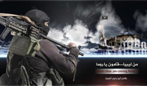 Minacce Isis Roma