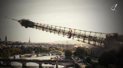Video Isis, Torre Eiffel