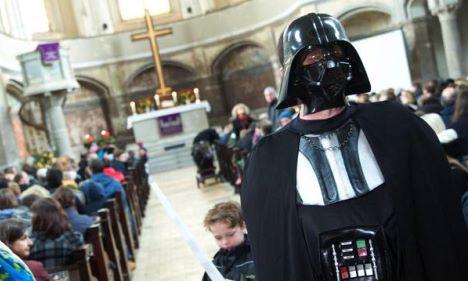 berlino chiesa Star Wars