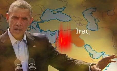 Obama, raid USA in Iraq