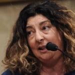 Conferenza stampa di Patrizia Moretti in Senato