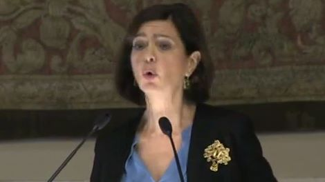 Boldrini - Screen dal video agenzia Vista