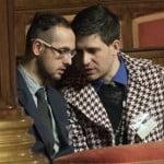 Unioni civili: Giovanardi denuncia,due si baciano in Tribuna