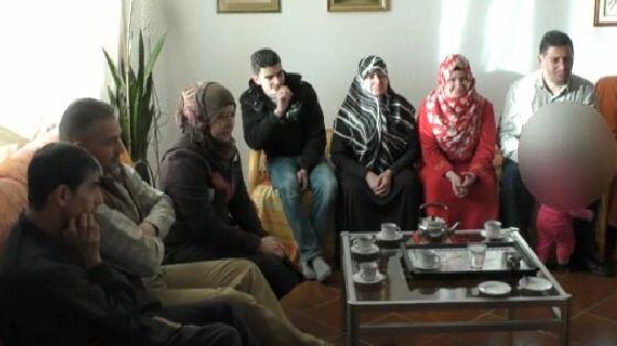 famiglia musulmana accolta a Torino nel mese di marzo