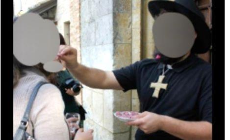 Matrimoni goliardici sul sagrato della chiesa: 64 indagati