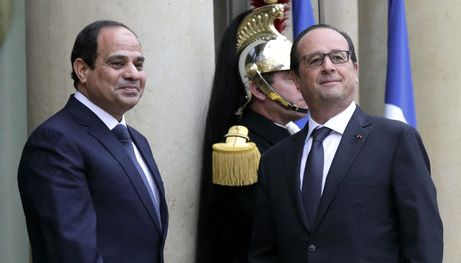 Hollande Al Sisis