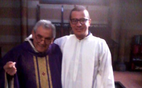 Padre Simeone e Domenico Rosa