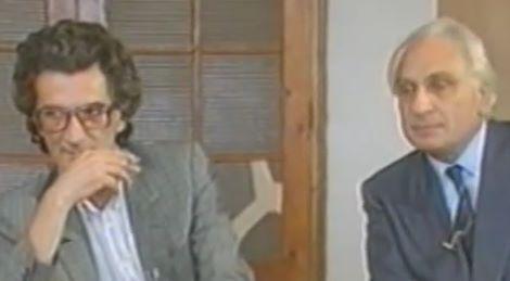 Toni Negri e Marco Pannella