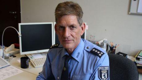 Thomas Neuendorf, portavoce della polizia berlinese