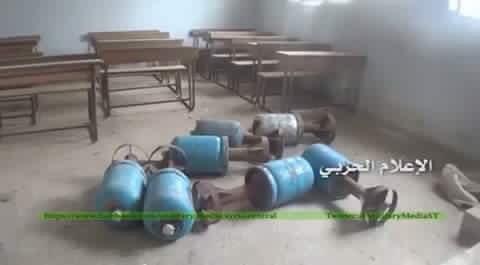 bombe dei ribelli (terroristi) nelle scuole
