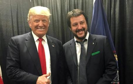 Incontro Matteo Salvini-Donald Trump a Filadelfia