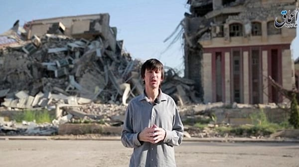 Cantlie-mosul