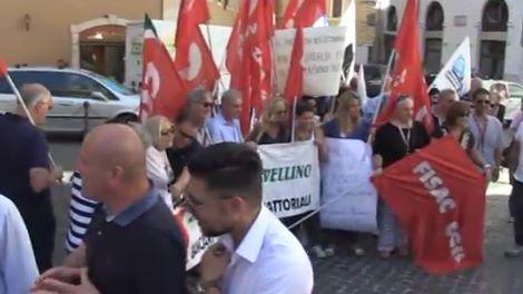 Montecitorio protesta dei sindacati contro la chiusura di for Montecitorio oggi