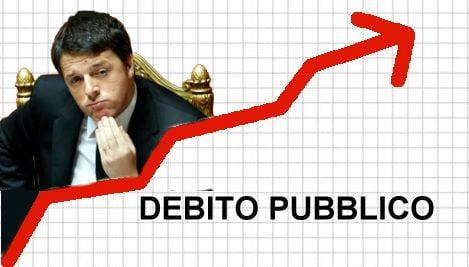 Renzi debito pubblico