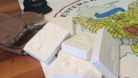 Polizia sequestra cocaina per 1 mln euro