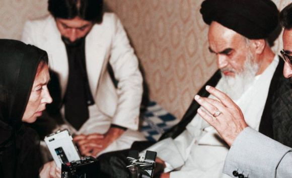 oriana-Khomeini