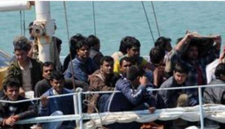 sbarchi nave turca