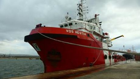 vos hestia nave save the children