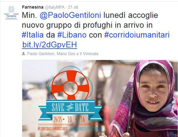 Italia, in arrivo 4292 migranti: Paolo Gentiloni chiede l'aiuto dell'Ue