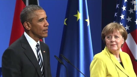 Merkel: lavorerò con Trump al meglio