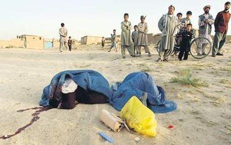 Immagine di repertorio - una delle tante donne uccise dai talebani