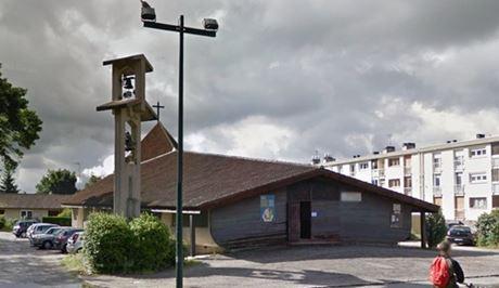 église Saint-André dans le quartier de la Roseraie