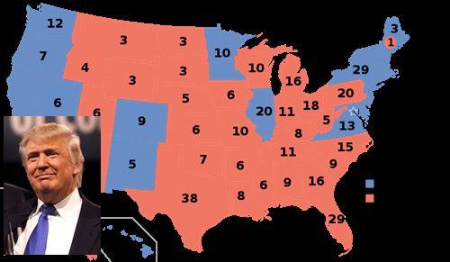 Trump: in corso il voto dei grandi elettori, per ora nessuna sorpresa